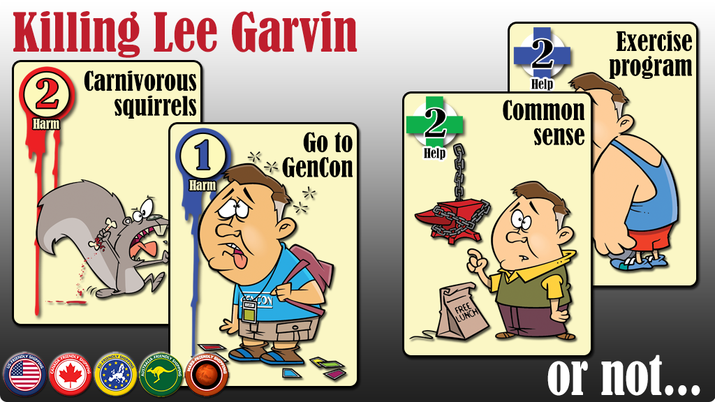 Killing Lee Garvin - Help a real-world game designer in need project video thumbnail