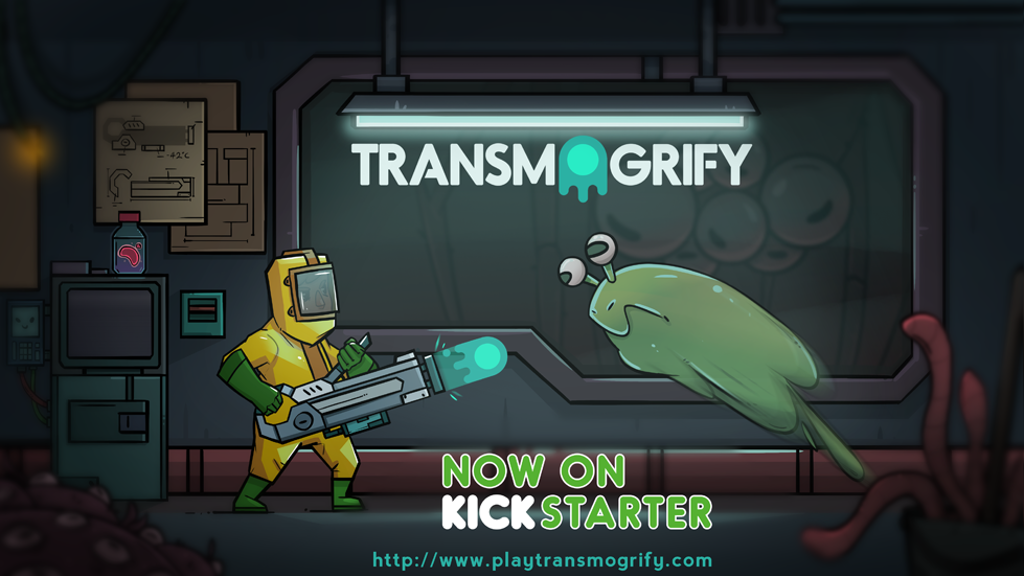 Transmogrify: A challenging sci-fi puzzle platformer project video thumbnail