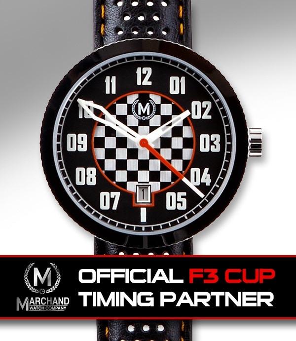 Official timing partner for the Formula 3 Cup, UK