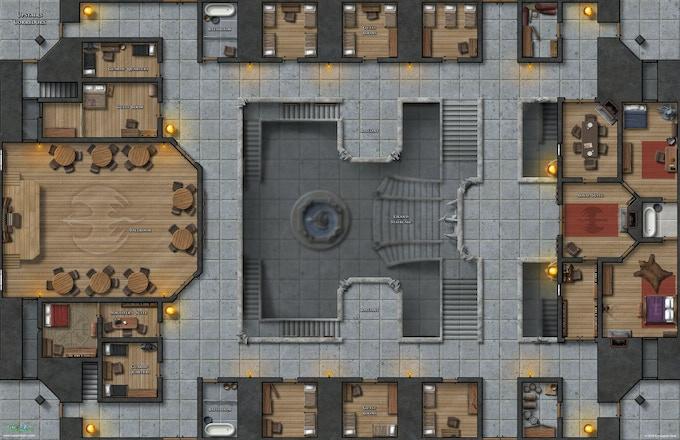 Upstairs Corridors