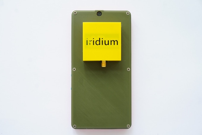 Never get lost, with the Iridium RockBLOCK 9603 SatCom module.