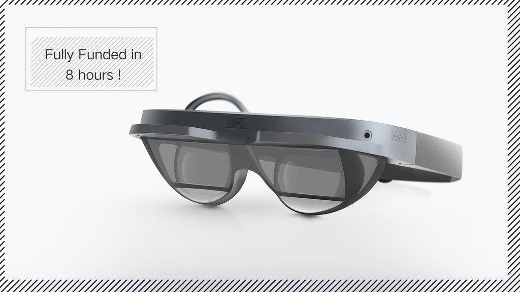 MIX: The Smallest AR Glasses with Immersive 96° FoV