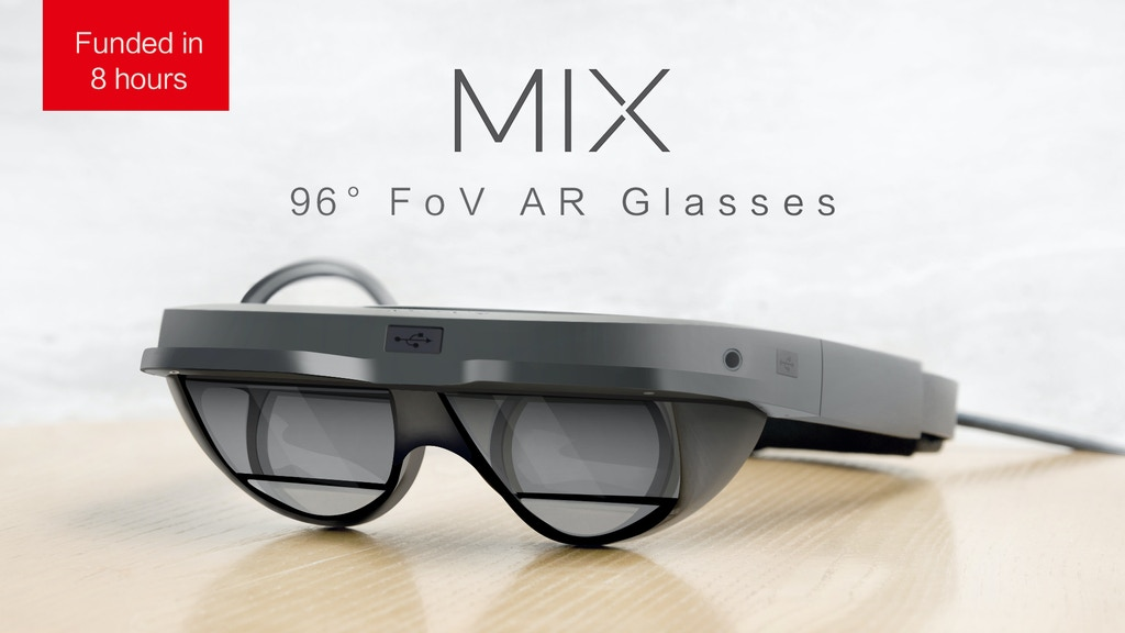 MIX: The Smallest AR Glasses with Immersive 96° FoV の動画サムネイル