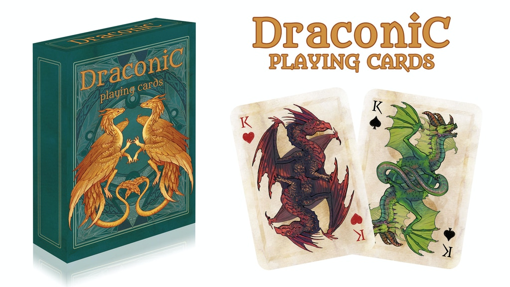 DRACONIC PLAYING CARDS project video thumbnail