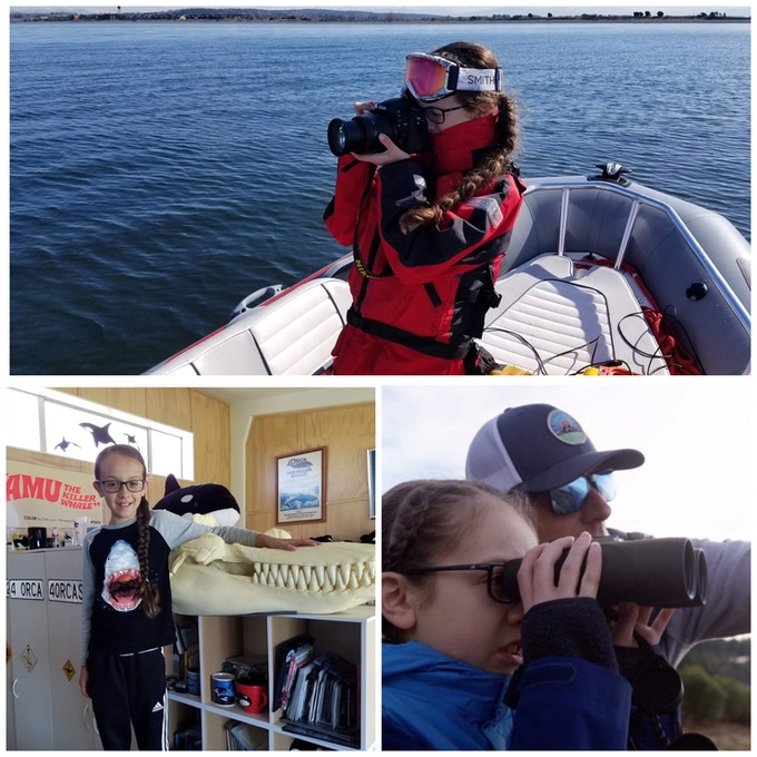 10 year old Activist and Research Assistant for the Orca Research Trust doing all she can do and more to save the Southern Resident Orca
