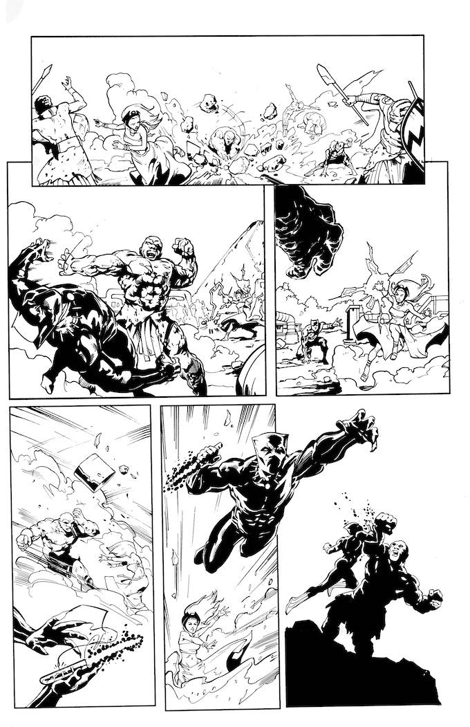 Black Panther art reward part 3!!