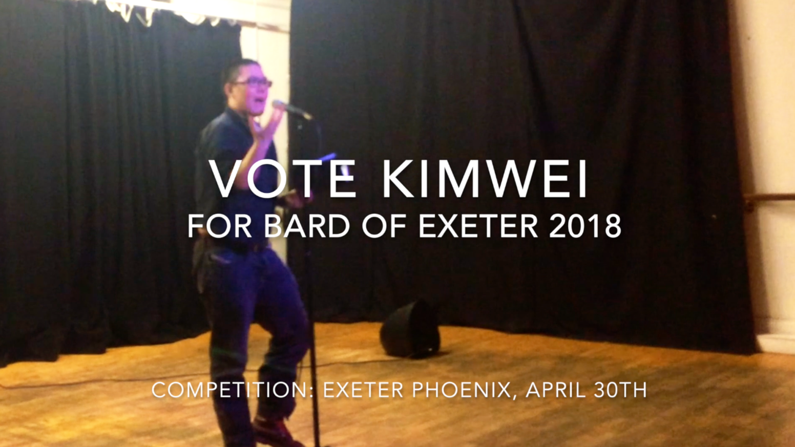 I am keen to serve Exeter as Bard. To support this best I need an online Bardic Chair - BardOfExeter.com Please pledge £1 or more!