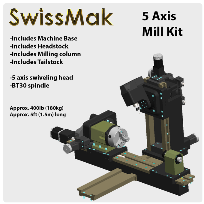 SwissMak - The Mill Turn Center for your machine shop by