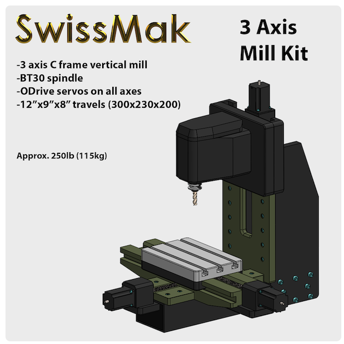Swissmak The Mill Turn Center For Your Machine Shop By
