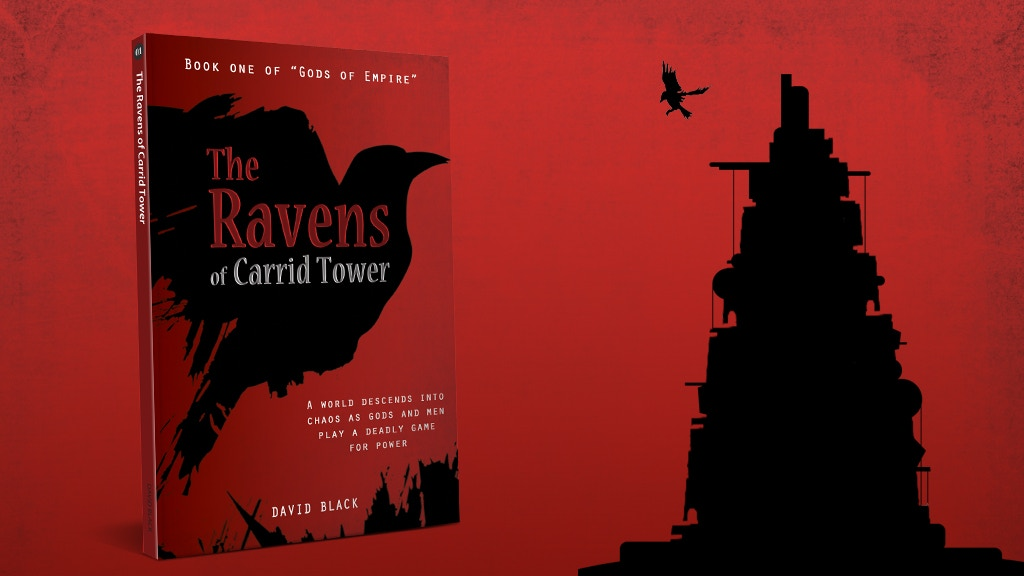The Ravens of Carrid Tower - Epic Fantasy Fiction Series. project video thumbnail