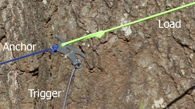 Trigger - For trebuchet, water balloon launcher, trap etc