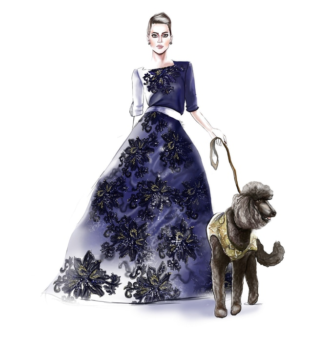 Anthony Rubio Designs Fashion Illustration by Ahvero