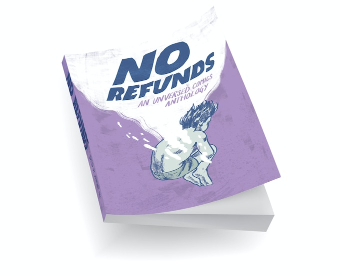 No Refunds mock up