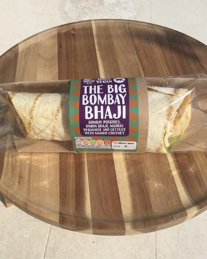 Big Bombay Bhaji by The Real Wrap Co.