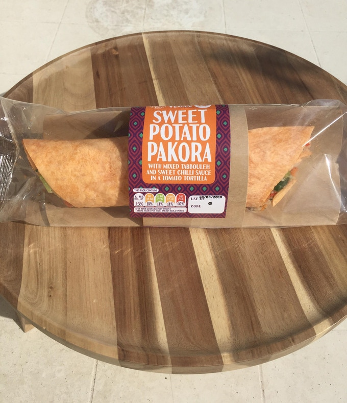 Sweet Potato Pakora by The Real Wrap Co.