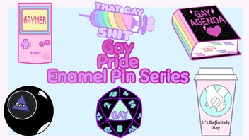 Gay Pride: Enamel Pin Series