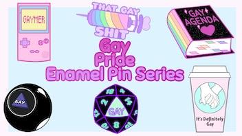 Gay Pride: Enamel Pin Series