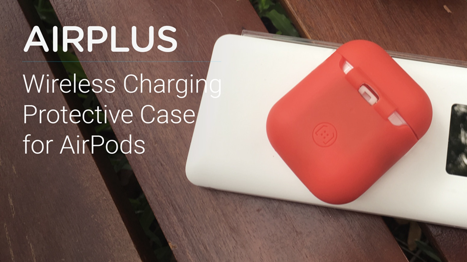 AirPlus - Wireless Charging Protective Case for AirPods