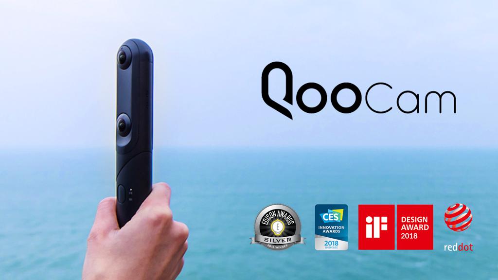QooCam: World's First interchangeable 4K 360° & 3D Camera project video thumbnail