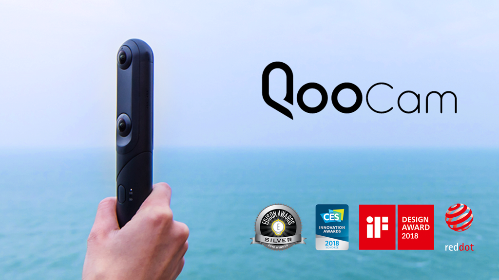 QooCam: World's First interchangeable 4K 360° & 3D Camera project video thumbnail
