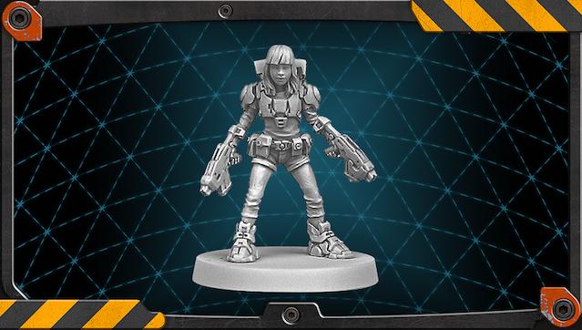 Jennie figure 3D render.