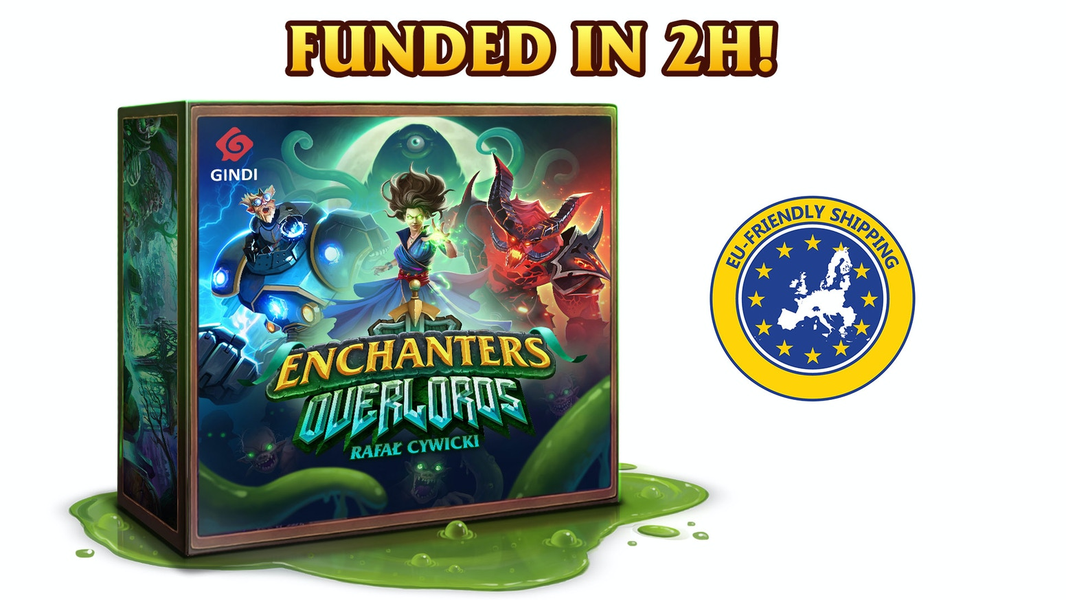 Enchanters: Overlords by Gindi — Kickstarter