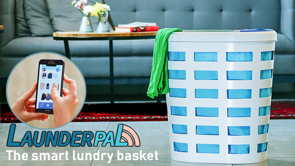 LaunderPal | The First Smart Laundry Basket in the World! project video thumbnail