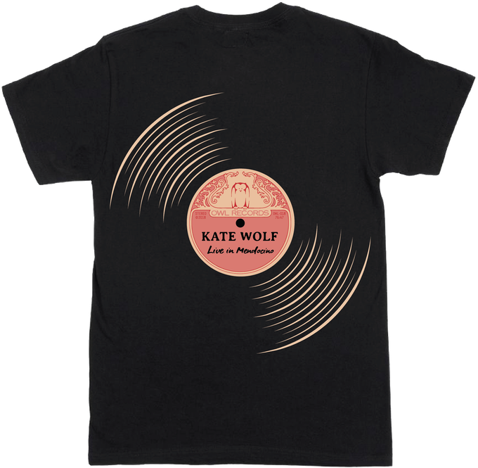 """""""Groovy"""" Album T-Shirt designed by Kate's granddaughter, Bonnie Kate Wolf"""