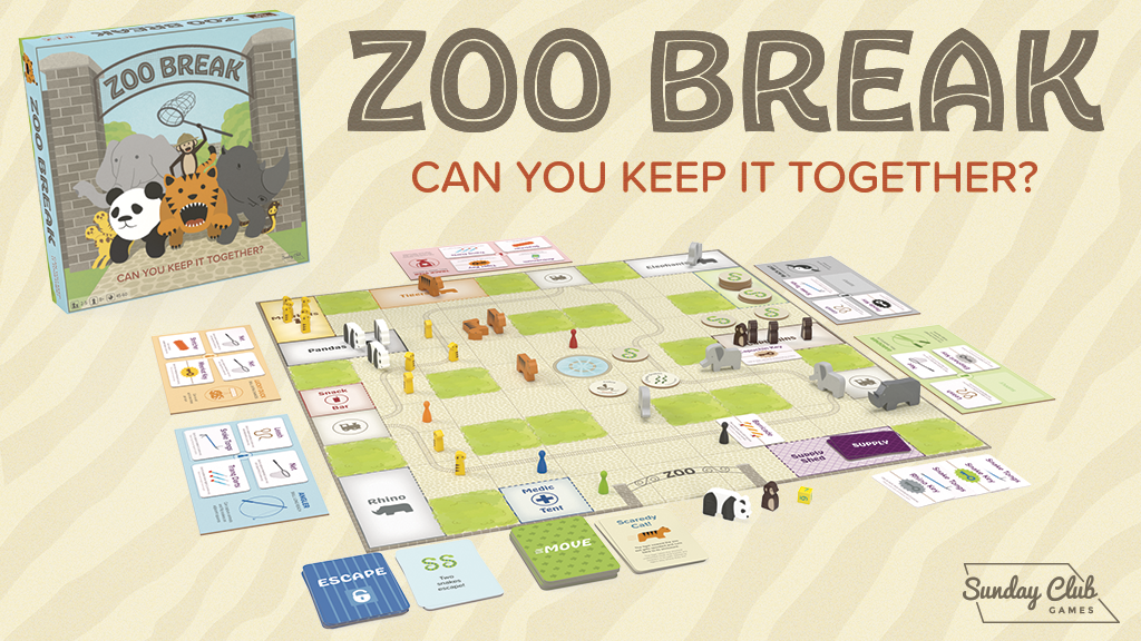 Zoo Break: Chaos. Danger. Heroism.