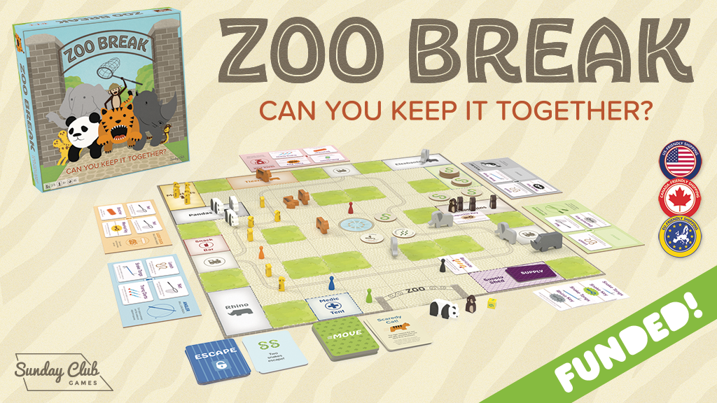 Zoo Break – Escapism at Its Finest project video thumbnail