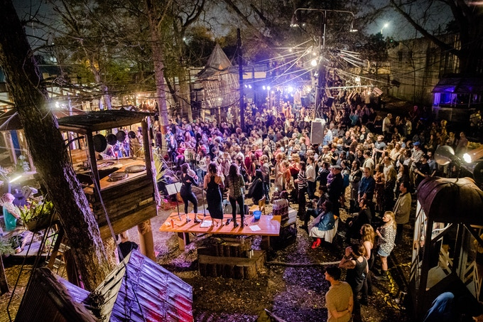 Spring 2018 Performance: Tony Allen + Kumasi Afrobeat Orchestra in the Music Box Village