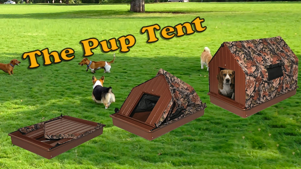 The Pup Tent - Collapsible, Water Resistant, Pet Shelter