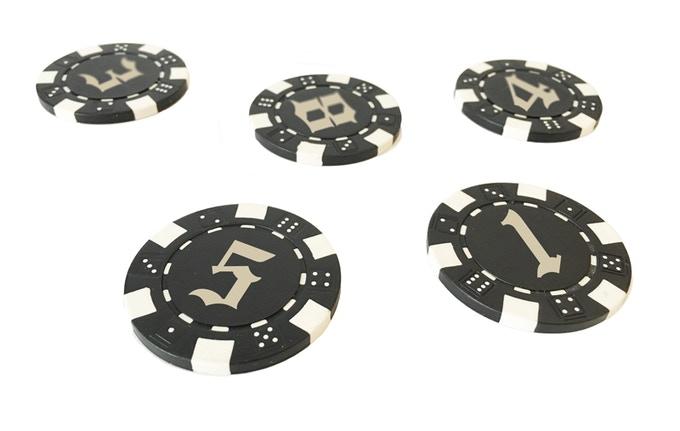 Prototype ceramic tokens