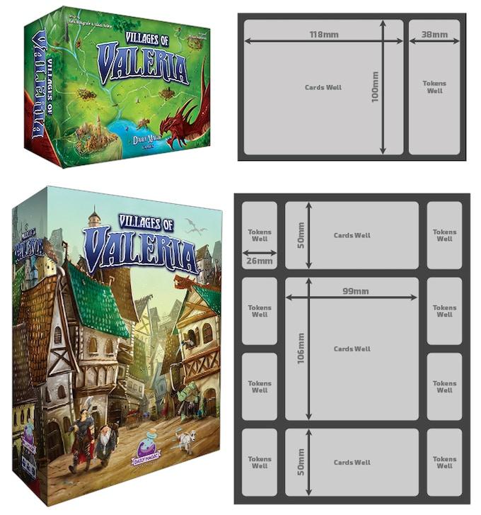 Villages of Valeria: Landmarks and Architects Big Box Edition (Kickstarter  Special)
