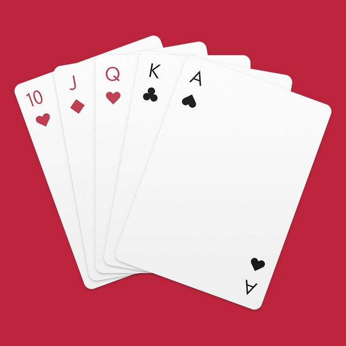 A beautiful and minimalist deck of Playing Cards