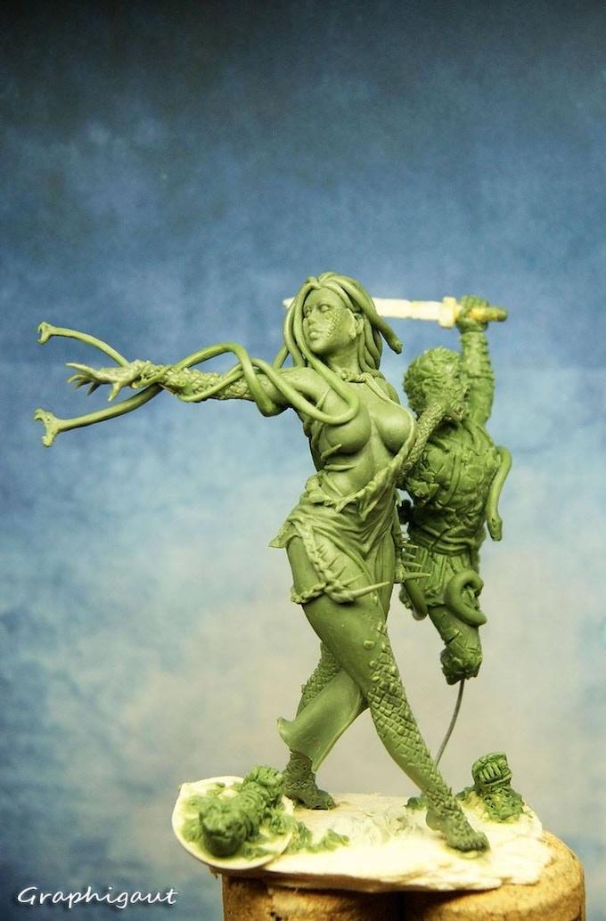 Final Medusa Sculpt