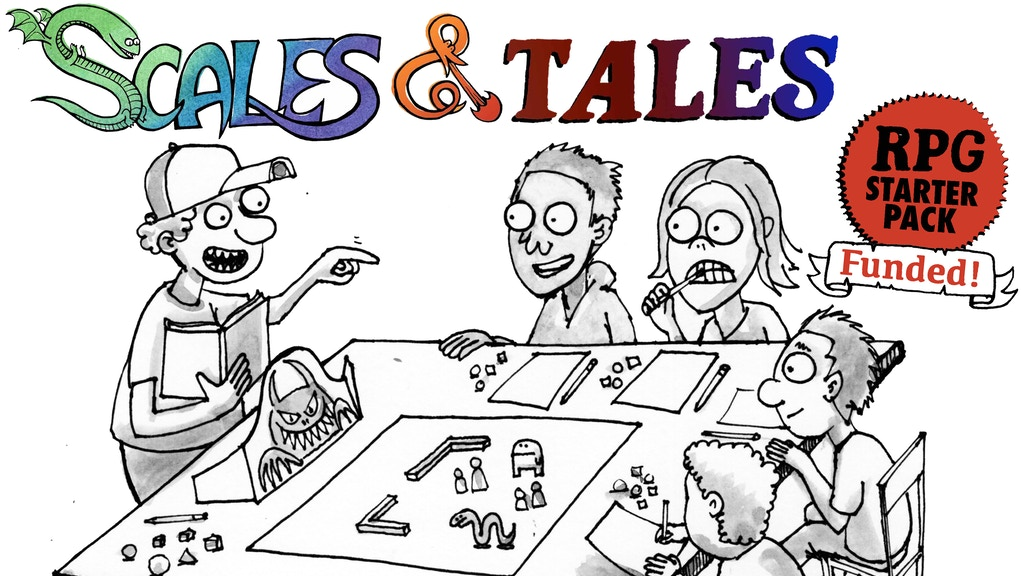 Scales & Tales, an RPG for all ages project video thumbnail