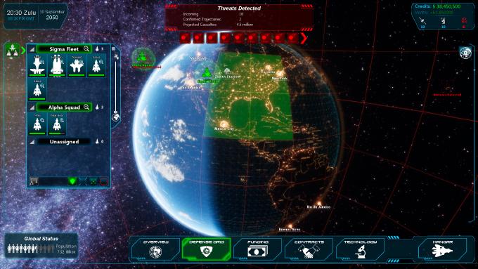 Planetary Defense Interface