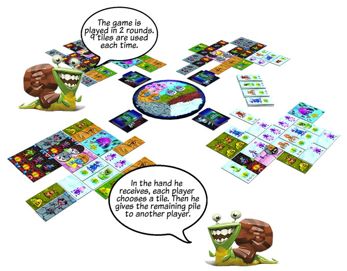 BIG MONSTER, an innovative game with colorful monsters! by