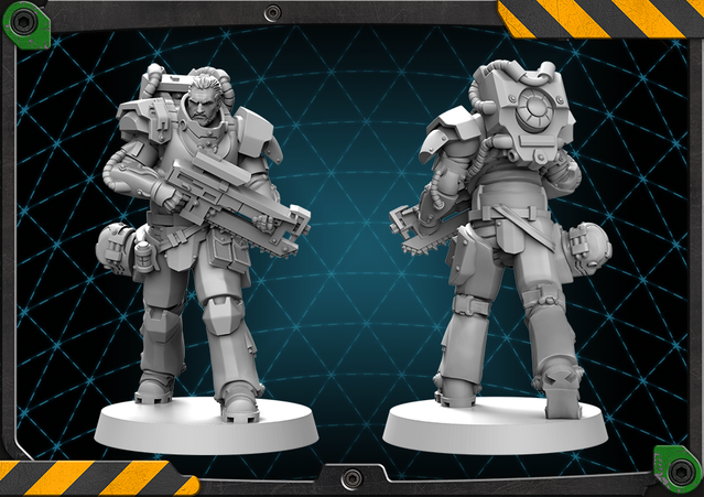 Miles figure 3D render.
