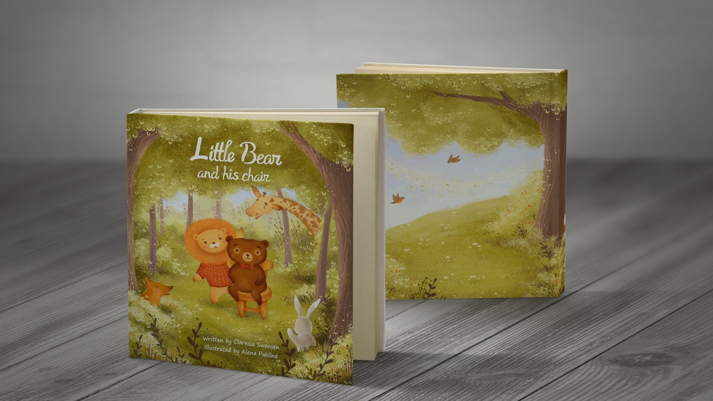 Little Bear and His Chair - Children's Book project video thumbnail