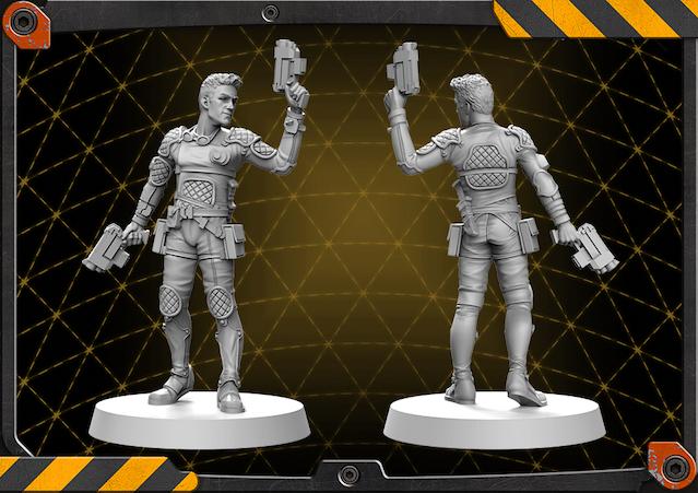 Lukas figure 3D render.