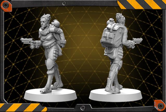 Olive figure 3D render.