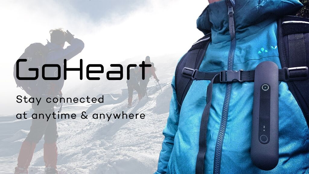 GoHeart- The ultimate outdoor networking device. project video thumbnail