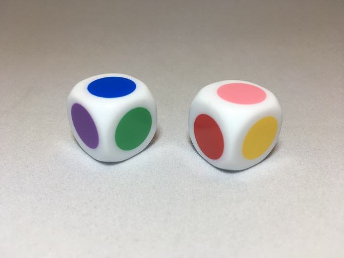 The Six-Colored Die Determines the Category of Question