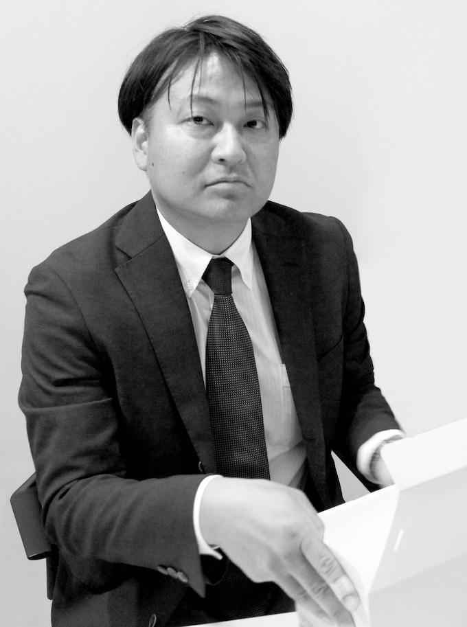 Product Maneger Ichiro Iwakura from Plastics