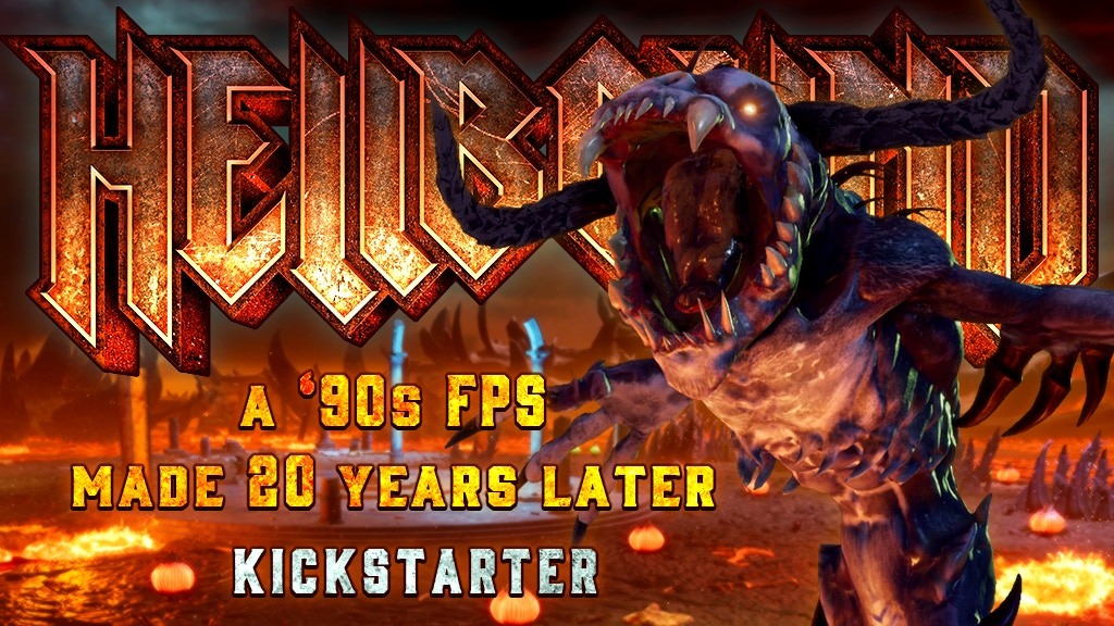 Hellbound: A '90s First Person Shooter, made 20 years later