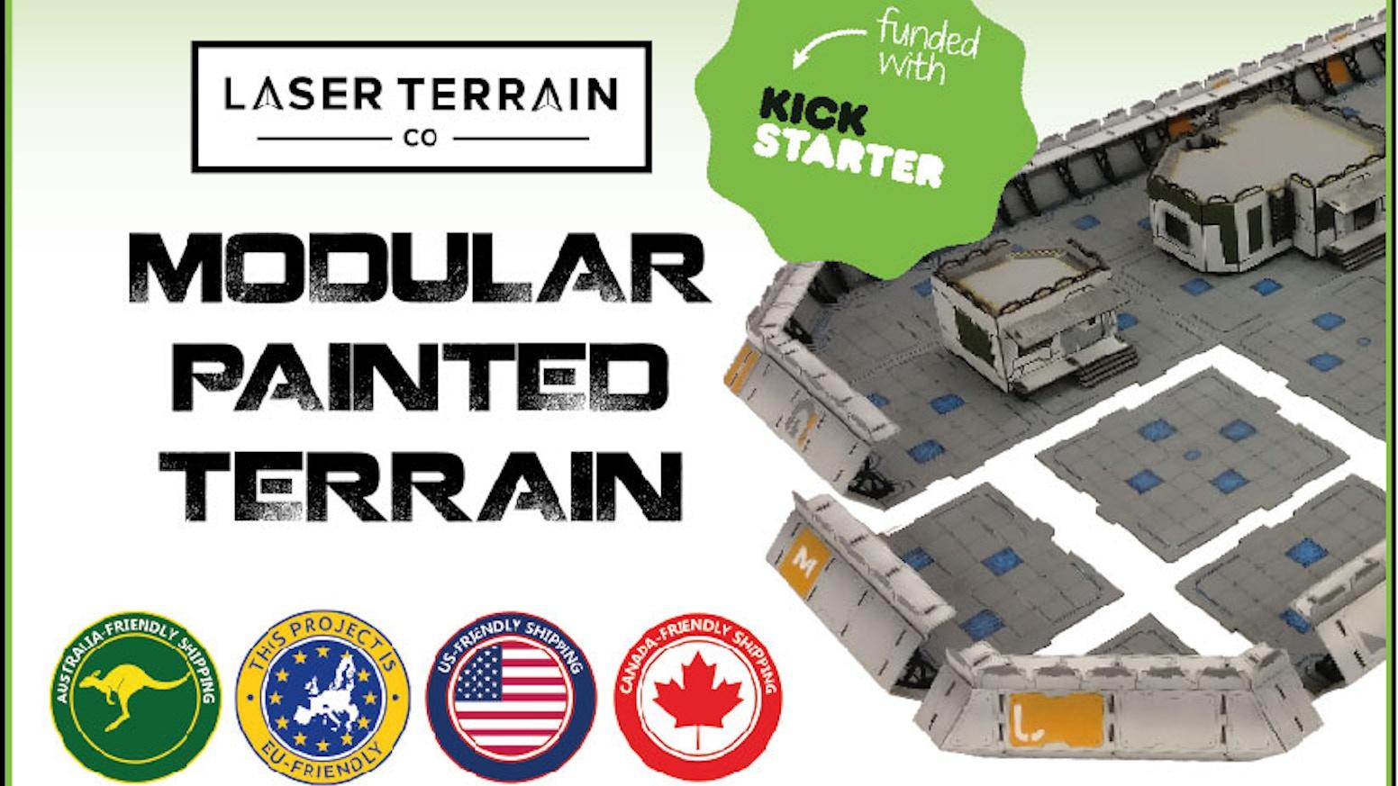 laser terrain co - modular painted terrainlaser terrain co