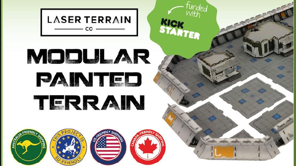Laser Terrain Co - Modular Painted Terrain project video thumbnail