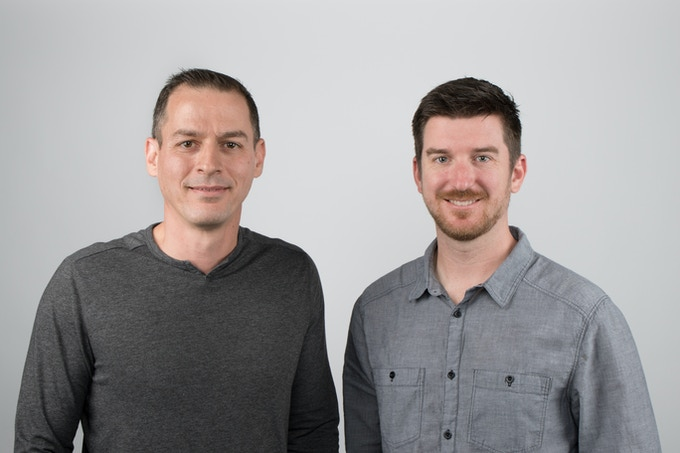Co-founders Ro Grosman, CEO and Craig Rettew, CTO